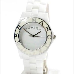 Marc by Marc Jacobs White Ceramic Watch